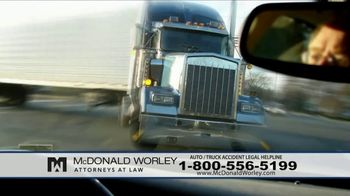 McDonald Worley TV Spot, 'Auto Injuries' - Thumbnail 3