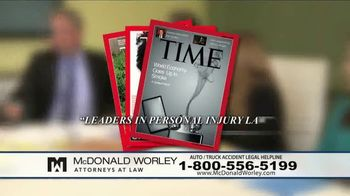 McDonald Worley TV Spot, 'Auto Injuries' - Thumbnail 5