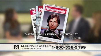 McDonald Worley TV Spot, 'Auto Injuries' - Thumbnail 7