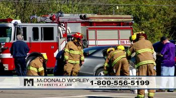 McDonald Worley TV Spot, 'Auto Injuries' - Thumbnail 8