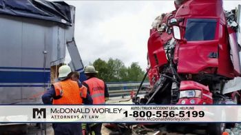 McDonald Worley TV Spot, 'Auto Injuries' - Thumbnail 9