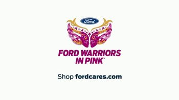 Ford Warriors in Pink TV Spot, 'Join the Fight' Featuring Pauley Perrette - Thumbnail 9