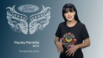 Ford Warriors in Pink TV Spot, 'Join the Fight' Featuring Pauley Perrette - Thumbnail 2