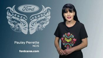 Ford Warriors in Pink TV Spot, 'Join the Fight' Featuring Pauley Perrette - Thumbnail 3