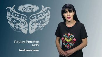 Ford Warriors in Pink TV Spot, 'Join the Fight' Featuring Pauley Perrette - Thumbnail 4