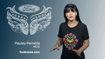 Ford Warriors in Pink TV Spot, 'Join the Fight' Featuring Pauley Perrette - Thumbnail 5