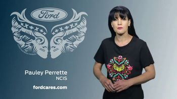 Ford Warriors in Pink TV Spot, 'Join the Fight' Featuring Pauley Perrette - Thumbnail 6