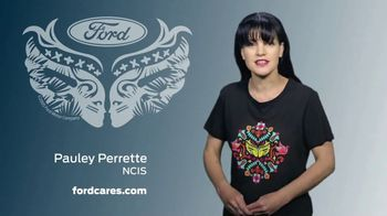 Ford Warriors in Pink TV Spot, 'Join the Fight' Featuring Pauley Perrette - Thumbnail 7