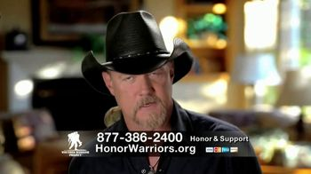 Wounded Warrior Project TV Spot, 'Soldier Ride: David' Feat. Trace Adkins