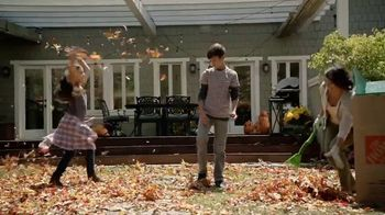 The Home Depot TV Spot, 'Welcome Back Fall: Leaf Blower' - 387 commercial airings