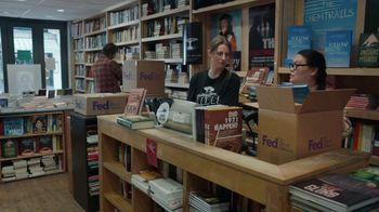 FedEx Ground TV Spot, 'Conspiracy Bookstore' - 2947 commercial airings