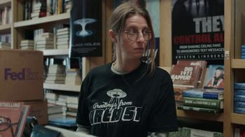 FedEx Ground TV Spot, 'Conspiracy Bookstore' - Thumbnail 6