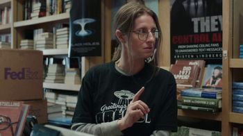 FedEx Ground TV Spot, 'Conspiracy Bookstore' - Thumbnail 8