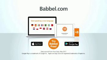 Babbel TV Spot, 'Interactive Technology' - Thumbnail 9