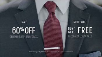 Men's Wearhouse TV Spot, 'Designer Moments: Suits and Sport Coats' - Thumbnail 6