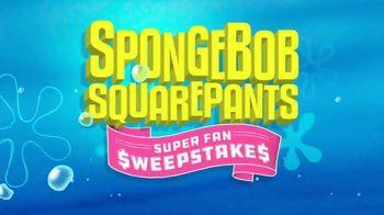 Nickelodeon TV Spot, 'SpongeBob SquarePants Super Fan Sweepstakes' - 625 commercial airings