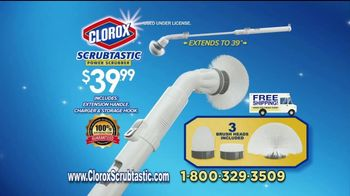 Clorox Scrubtastic Power Scrubber TV Spot, 'Power Scrubber'