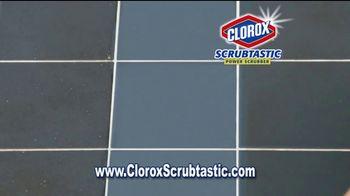 Clorox Scrubtastic Power Scrubber TV Spot, 'Power Scrubber' - Thumbnail 3