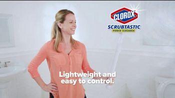Clorox Scrubtastic Power Scrubber TV Spot, 'Power Scrubber' - Thumbnail 5