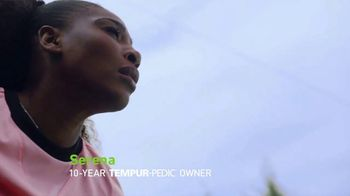 Tempur-Pedic TV Spot, 'Only the Best' Featuring Serena Williams - 745 commercial airings