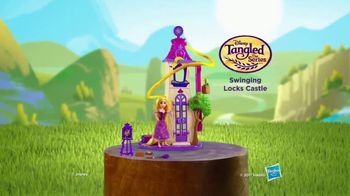 Disney Tangled: The Series Swinging Locks Castle TV Spot, 'Adventure'