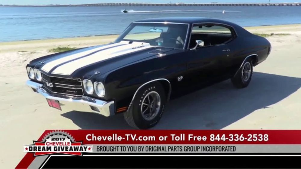 2017 Chevelle Dream Giveaway Tv Commercial Charitable Donation
