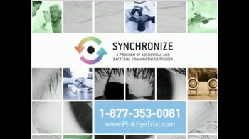 Synchronize TV Spot, 'Pink Eye Trial' - Thumbnail 9