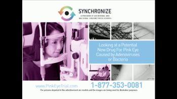 Synchronize TV Spot, 'Pink Eye Trial' - Thumbnail 4