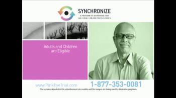 Synchronize TV Spot, 'Pink Eye Trial' - Thumbnail 5