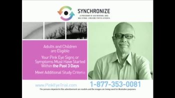 Synchronize TV Spot, 'Pink Eye Trial' - Thumbnail 6