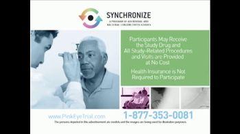 Synchronize TV Spot, 'Pink Eye Trial' - Thumbnail 8