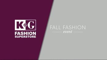 K&G Fashion Superstore Fall Fashion Event TV Spot, 'Women's Dresses' - Thumbnail 1
