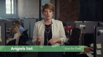Angie's List TV Spot, 'What Goes Down: Join for Free'