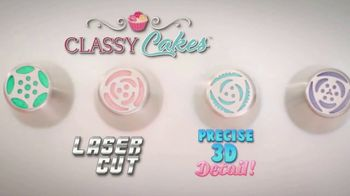 Classy Cakes TV Spot, 'Take the Work Out of Decorating' Feat. Stella Riches