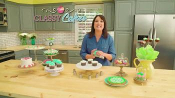 Classy Cakes TV Spot, 'Take the Work Out of Decorating' Feat. Stella Riches - 4 commercial airings