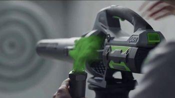 EGO Power+ Backpack Blower TV Spot, 'Delivers'