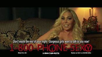 1-800-PHONE-SEXY TV Spot, \'Too Late to Find a Date\'