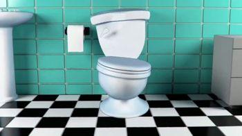 Toilet Trouble TV Spot, 'Face the Flush' - Thumbnail 1