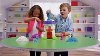 Kinetic Sand Magic Molding Tower TV Spot, 'Give It a Squish' - 710 commercial airings