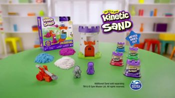 Kinetic Sand Magic Molding Tower TV Spot, 'Give It a Squish' - Thumbnail 10