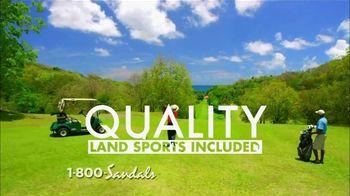 Sandals Resorts TV Spot, 'Water, Land & Spirits' - Thumbnail 5