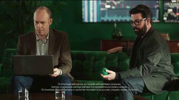 TD Ameritrade Earnings Tool TV Spot, 'Stress Ball' - Thumbnail 8