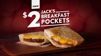 Jack in the Box Breakfast Pockets TV Spot, \'Wake Up Call\'