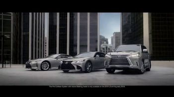 Lexus TV Spot, 'Safety System: A World Without Accidents' [T1] - 2385 commercial airings