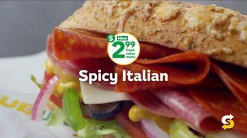 Subway $2.99 Fresh Value Menu TV Spot, 'Jaw Dropping' - Thumbnail 4