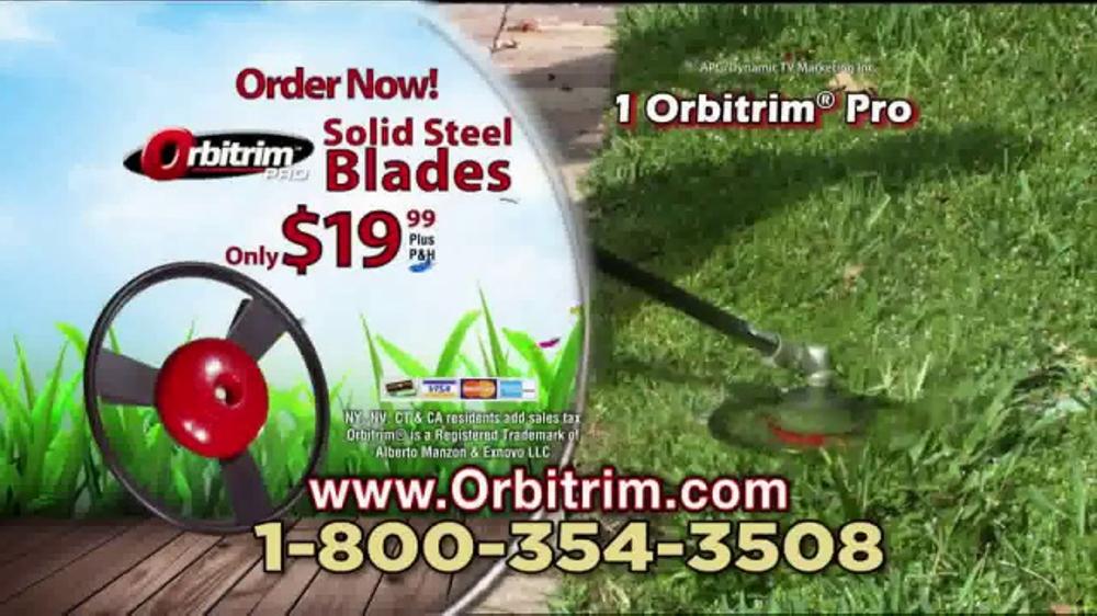 orbitrim pro tv commercial 39 trim and edge 39. Black Bedroom Furniture Sets. Home Design Ideas