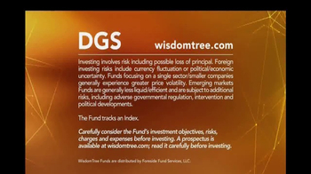 WisdomTree TV Spot, 'DGS: Emerging Markets Small Cap ETF' - Thumbnail 10