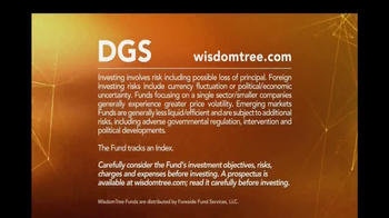 WisdomTree TV Spot, 'DGS: Emerging Markets Small Cap ETF' - Thumbnail 9