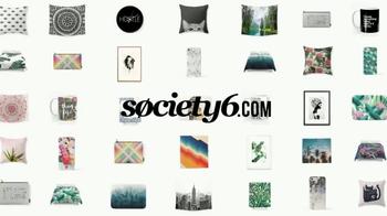 Society6 TV Spot, 'Express Yourself Through Art' Song by Galantis - Thumbnail 9