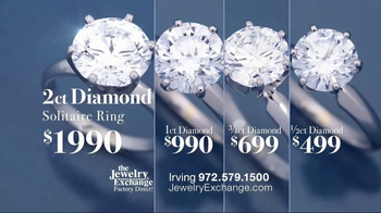 Jewelry Exchange TV Spot, 'GIA Diamond Solitaires' - Thumbnail 5